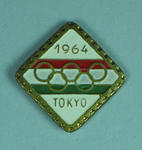 Olympic Stick Pin - Hungarian Olympic Team, 1964 Olympic Games, Tokyo