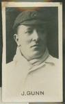 1923 CHUMS Periodical CHUMS Cricketers John Gunn trade card