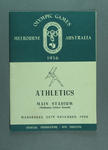 Programme - Athletics, 1956 Melbourne Olympic Games, 28 November