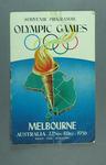 Souvenir Programme - 1956 Olympic Games, Melbourne
