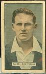 1936-37 Allen's Cricketers Laurence Fishlock trade card