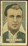 1936-37 Allen's Cricketers Leslie Ames trade card