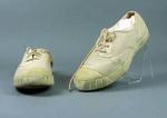 Squash shoes, worn by Rae Maddern c1950s