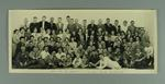 Photograph of Australian and New Zealand squash teams, c1953