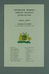 Annual report, Australian Women's Squash Rackets Association 1965