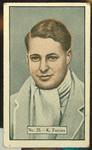 1936-37 Allen's Cricketers Ken Farnes trade card