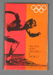 """Booklet, """"The Story of the Olympics & Mexico"""""""