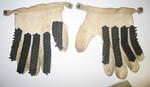 Cricket Batting gloves, pair, worn by Betty Wilson