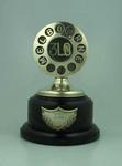 Trophy presented to Ivan Stedman by radio station 3LO Melbourne, c. 1930
