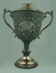Trophy presented by Footscray Swimming Club, won by CH Esler