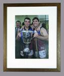 Reproduction photograph, Chris & Brad Scott - 2001 AFL Grand Final