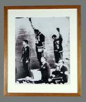 Photograph of Tommie Smith, John Carlos and Peter Norman - 1968 Olympic Games