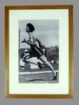 Reproduction photograph, depicts Marjorie Jackson at 1952 Helsinki Olympic Games