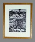 Reproduction photograph 1980 Moscow Olympic Games Opening Ceremony