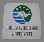 "Banner, ""Australian Gallery of Sport & Olympic Museum"""