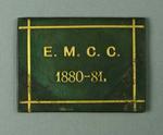 Ticket, East Melbourne Cricket Club - season 1880-81