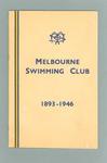 Souvenir booklet - Melbourne Swimming Club - 1893 - 1946