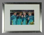 Reproduction photograph, Australian men's 4 x 200m relay team - 2004 Olympic Games