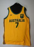 1980 Moscow Olympics - Australian Basketball Team (the Boomers) uniform worn by Larry Sengstock