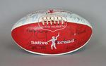 Ross Faulkner Australian Rules Football signed by 23 past Sydney Swans players.