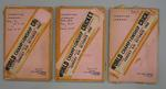 Three scrapbooks of newspaper clippings, 1968 World Championship Cricket