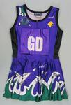 Melbourne Phoenix netball uniform, signed by members of 2002 team