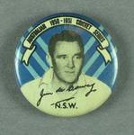 Badge, depicts James de Courcy c1950-51