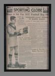 Photographic copy of the front page of The Sporting Globe, Wednesday 21 April 1937 featuring Roy Cazaly