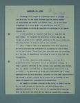 Manuscript of radio speech given by Frank Beaurepaire on 3DB