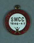 South Melbourne Cricket Club membership medallion, season 1946-47