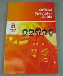 Official Spectator Guide booklet form the 2008 Beijing Olympic Games