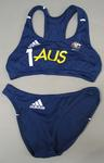 Beach volleyball uniform worn by Natalie Cook, 2008 Beijing Olympic Games