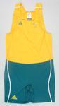 Unworn rowing bodysuit signed by James Tomkins, 2008 Beijing Olympic Games