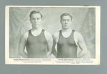 Postcard of Frank Beaurepaire and Frank Springfield