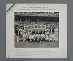 Photograph - 1956 Amateur Olympic team Demonstration game