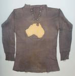 Football Jumper worn by Ben Hastie Mills, match between Australian Training Units & 3rd Australian Divisional Team, London, 28 October 1916