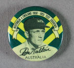 Badge with image of Don Tallon, 1950-51