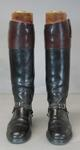 Pair of equestrian riding boots worn by Wyatt Thompson