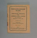Booklet - Constitution, Rules, Bylaws Amateur Boxing & Wrestling Union of Australia 1924