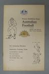 Programme - 1916 Pioneer Australian Imperial Forces Exhibition Football Match