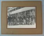 Photograph of Coburg Football Club, 1938 End of Year Trip to Tasmania