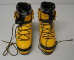 Mountaineering boots, used by Mick Parker