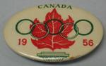 Canadian team badge, 1956 Melbourne Olympic Games