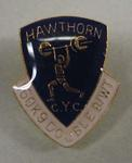 Lapel pin, Hawthorn Citizens Youth Club weightlifting