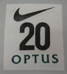 Athlete's number worn by Emma George, Nike Track Classic at Olympic Park - 1997