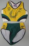 Athletic uniform worn by Emma George, 1998 Commonwealth Games