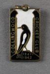 Membership badge, Collingwood Cricket Club - season 1941/42