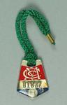 Melbourne Cricket Club restricted membership badge, season 1972/73
