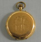 Engraved gold fob watch awarded to rower Ray Todd, 1924-25