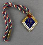 Melbourne Cricket Club country membership badge, season 1955/56